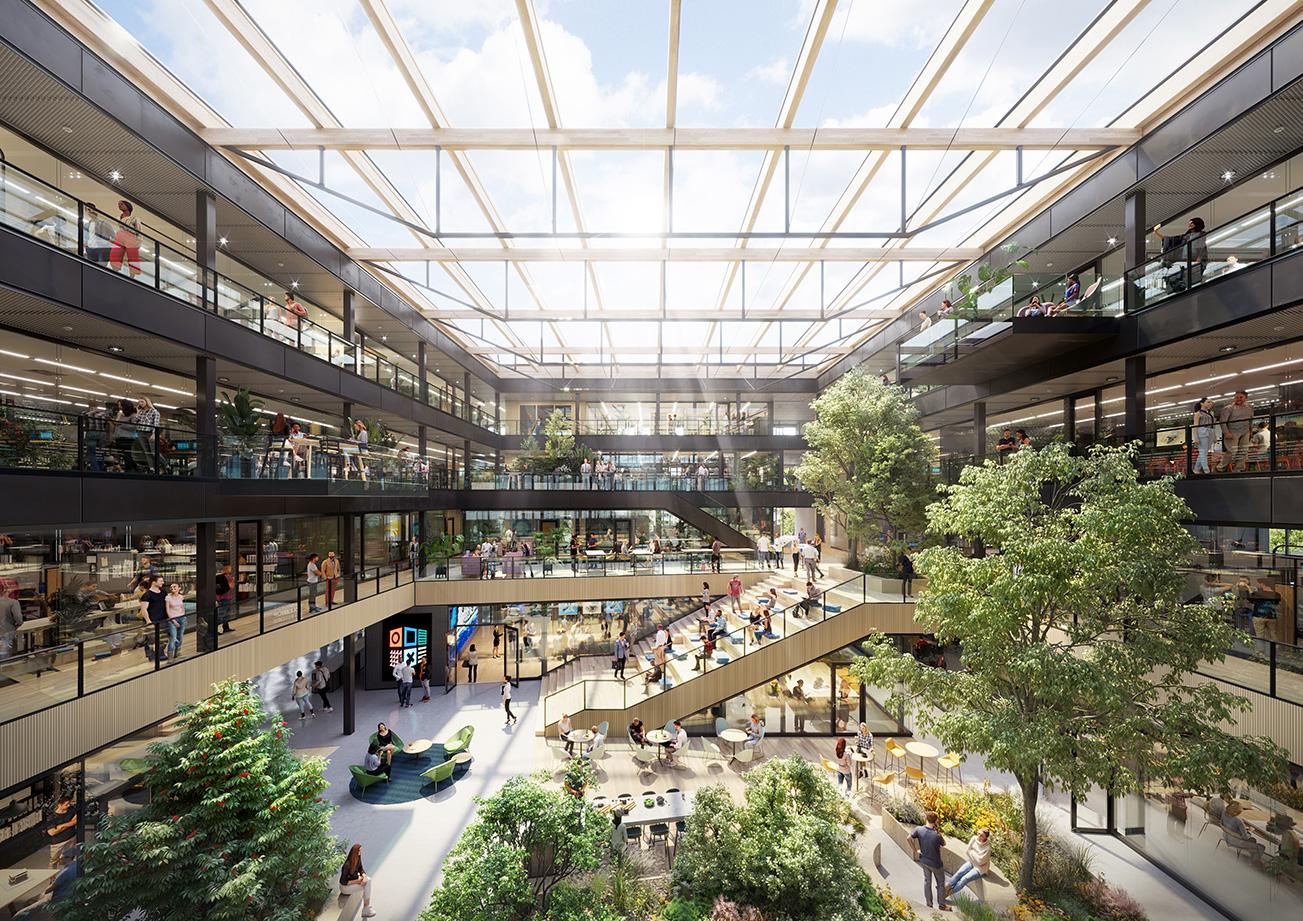 STONE22 ontwikkelt en realiseert NEXT Delft op de TU Delft campus