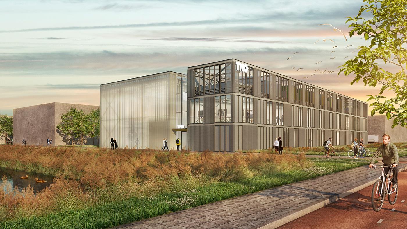 a.s.r. real estate koopt TNO's nieuwe lab voor bouwinnovatie op de TU Delft Campus