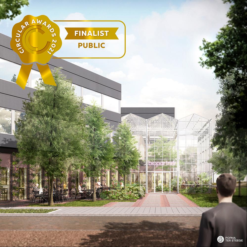 Biopartner 5 building, 2021 national Circular Awards finalist (Public category)